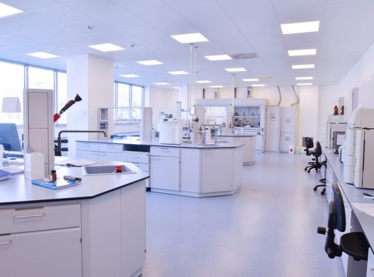 Biopharmaceutical Firm's Laboratory Clean Room