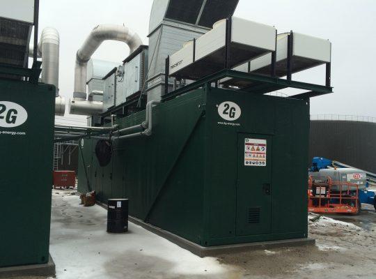 3.2MW Biogas Digester Plant